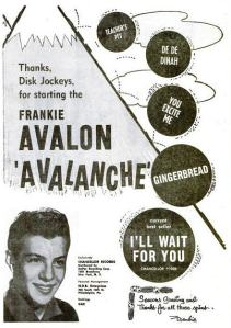 Avalon, Frankie - 12-58 - Avalanche