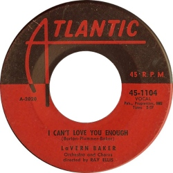 Baker, Lavern - 09-56 - I Can't Love You Enough R