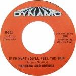 Barbara & Brenda PLUS - 05-67 - If I'm Hurt You'll Feel the Pain R