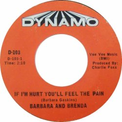 Barbara & Brenda PLUS - 05-67 - If I'm Hurt You'll Feel the Pain R