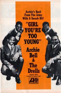 Bell, Archie & Drells - 1969 BB - Girl You're Too Young