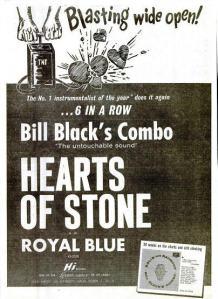Black's Combo, Bill - 02-61 - Hearts of Stone
