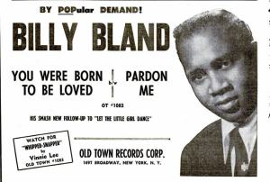 Bland, Billy - 06-60 - You Were Born to Be Loved