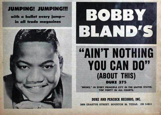 Bland, Bobby - 03-64 - Ain't Nothin You Can Do