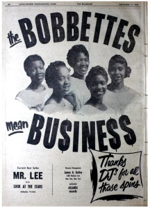 Bobbettes - 11-57 - Mr. Lee