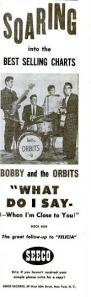 Bobby & the Orbits - 06-59 - What Do I Say