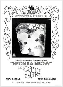 Box Tops - 11-67 - Neon Rainbow