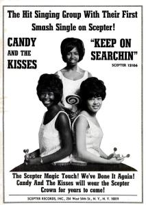Candy & the Kisses - 05-65 - Keep On Searchin
