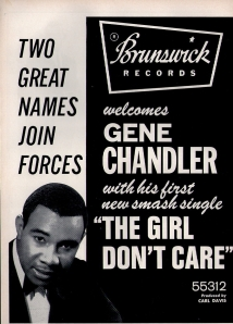 Chandler, Gene - 1967 CB - The Girl Don't Care