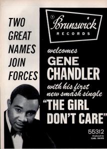 Chandler, Gene - 1967 CB - The Girl Don't Care