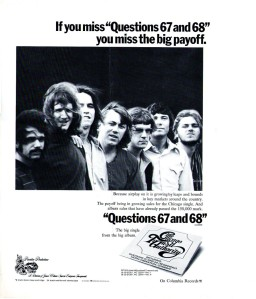 Chicago Transit Authority - 1968 CB - Questions