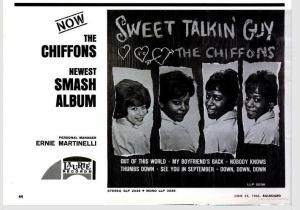Chiffons - 06-66 - Sweet Talkin Guy