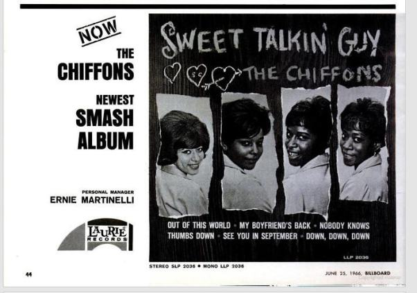 Chiffons - 06-66 - Sweet Talkin Guy