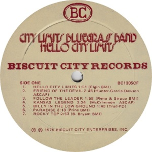 _CITY LIMITS - BISCUIT CITY 1305 - RA