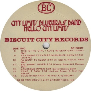 _CITY LIMITS - BISCUIT CITY 1305 - RB