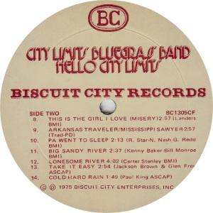 _CITY LIMITS - BISCUIT CITY 1305 - RB