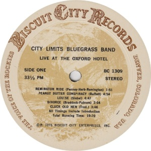 _CITY LIMITS - BISCUIT CITY 1309 - RA