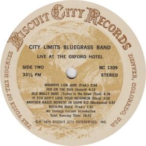 _CITY LIMITS - BISCUIT CITY 1309 - RB