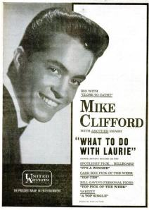 Clifford, Mike - 12-62 - What to Do With Laurie