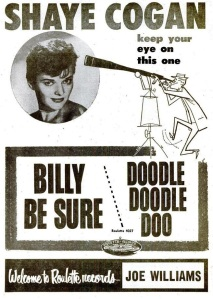 Cogan, Shaye - 10-57 - Billy Be Sure