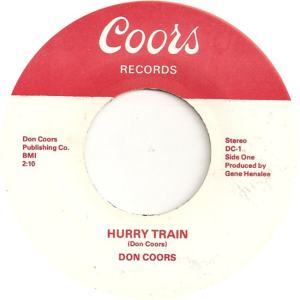 Coors 1 - Coors, Don - Hurry Train