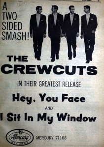Crew Cuts - 08-57 - Hey You Face