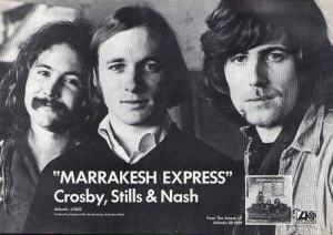 Crosby, Stills & Nash - 1969 BB - Marrakesh Express