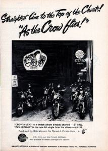 Crow - 1969 BB - As the Crow Flies