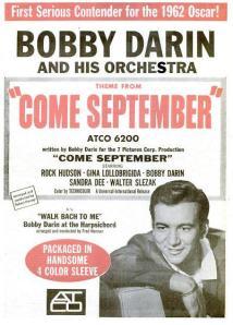 Darin, Bobby - 06-61 - Come September