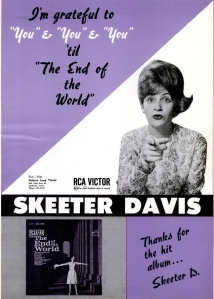 Davis, Skeeter - 04-63 - The End of the World