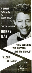 Day, Bobby - 11-1958 - Bluebird, Buzzard & Oriole