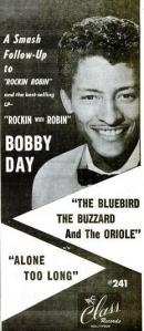 Day, Bobby - 11-1958 - Bluebird, Buzzard & Oriole
