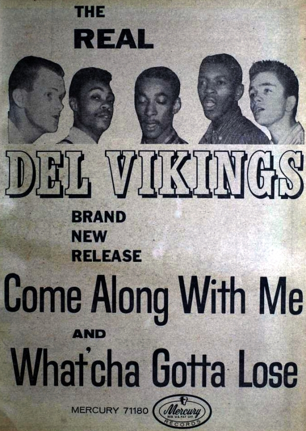 Del Vikings - 09-57 - Come Along with Me