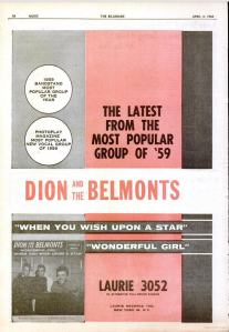 Dion & Belmonts - 04-60 - When You Wish Upon a Star