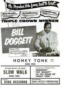 Doggett, Bill - 11-56 - Honky Tonk