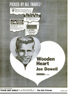 Dowell, Joe - 06-61 - Wooden Heart