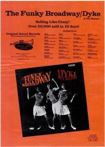 Dyke & the Blazers - 11-67 - Funky Broadway