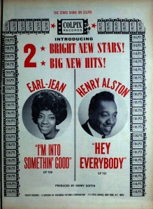 Earl Jean - 05-64 -  I'm Into Something Good