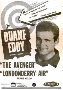 Eddy, Duane - 11-61 - The Avenger