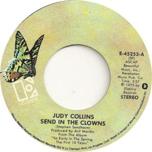Elektra 45253 - Collins, Judy - Send in the Clowns