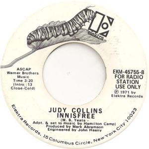 Elektra 45755 DJ - Collins, Judy - Innisfree