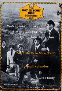 Epic Splendor - 1967 BB - A Little Rain Must Fall