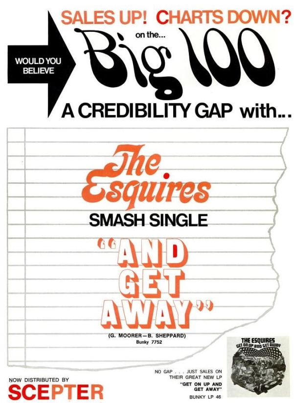 Esquires - 01-68 - And Get Away