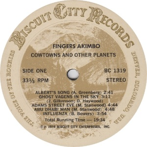 _FINGERS AKIMBO - BISCUIT CITY 1319 - RA
