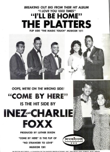 Foxx, Inez & Charlie - 11-66 - Come By Here