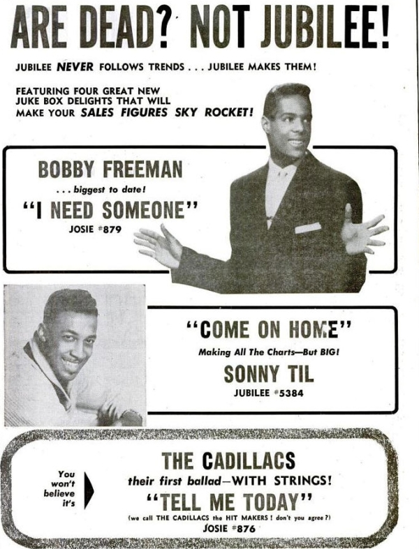 Freeman, Bobby - 05-60 - I Need Someone