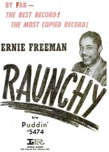 Freeman, Ernie - 11-57 - Raunchy