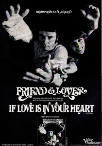 Friend & Lover - 1968 CB - If Love Is in Your Heart