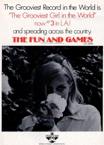 Fun & Games - 1969 CB - Grooviest Girl