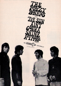 Fuzzies - 1968 CB - The Sun Ain't Gonna Shine Any More